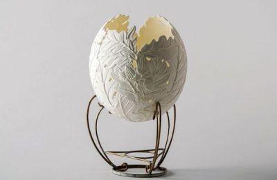 Скульптуры из яиц