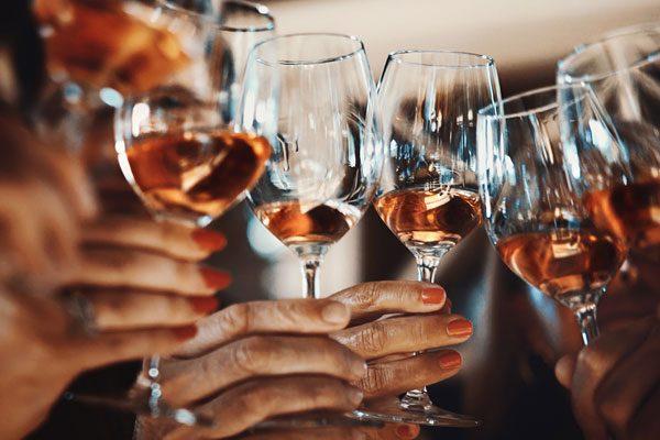 удовольствие от вина
