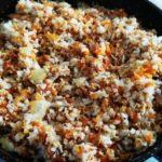 Начинка из мяса и риса