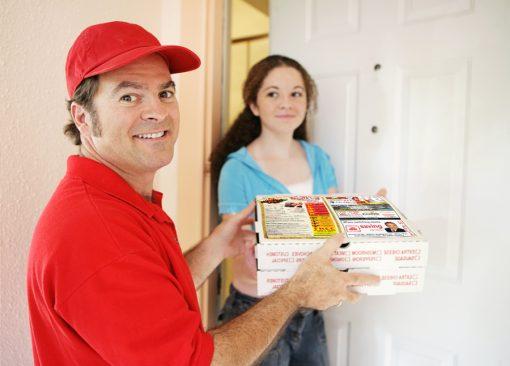 Заказать пиццу на дом