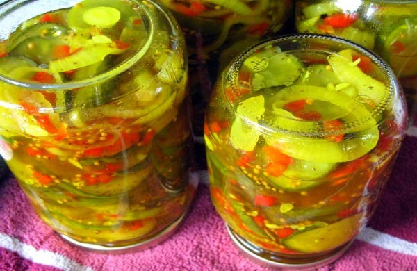Консервированный овощной салат