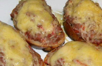 Как приготовить бутерброды с мясным фаршем