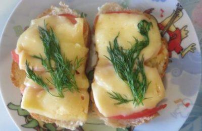 Бутерброд с сыром