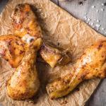 Куриные голени в скорлупке