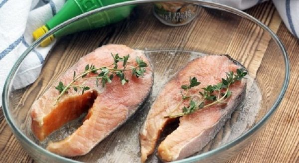 готовим рыбу в микроволновке
