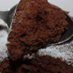 Шоколадные кексы в микроволновке