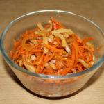 Морковный салат из микроволновки