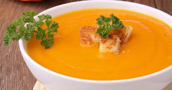 Суп-пюре из тыквы