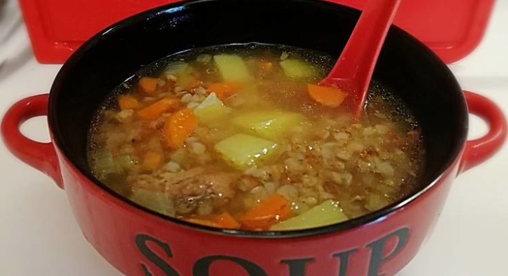 суп с тушенкой